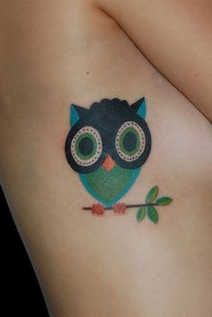 Owl clock tattoo meaning images amp pictures becuo