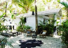 Méchant Studio Blog: Goa's shack on the sand