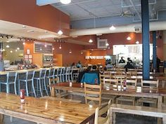 Bull City Burger & Brewery #Durham - kids' play area in back