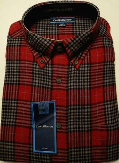 Croft and Barrow Mens Size Small Plaid Flannel Cotton Shirt Wine Red Gray Promotion - http://mydailypromo.com/croft-and-barrow-mens-size-small-plaid-flannel-cotton-shirt-wine-red-gray-promotion.html