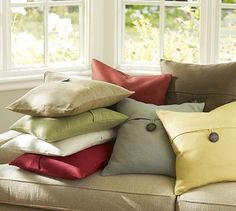 LOVE these adorable pillows from Pottery Barn!