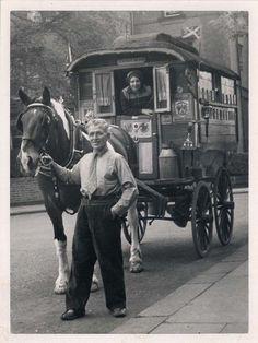 Circus caravan, 1940s