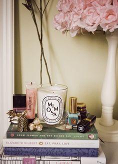diptyque candle x #makeup :: #interior #decoration