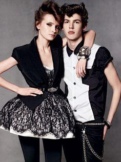 skirt, lace, teen vogue, punk fashion, diamonds