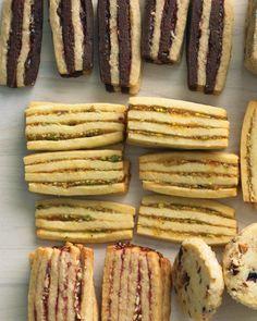 Apricot-Pistachio Layered Icebox Cookies Recipe