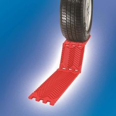 Provides easy exit whether you're stuck in snow, ice, sand, or mud. WANT.