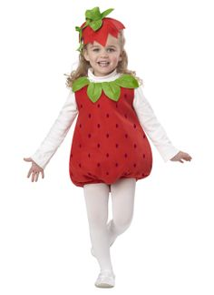 Strawberry dressing up costume
