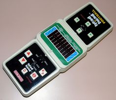 Vintage Coleco Head To Head Electronic Football Handheld Game By Coleco, Made In USA, Copyright 1979.