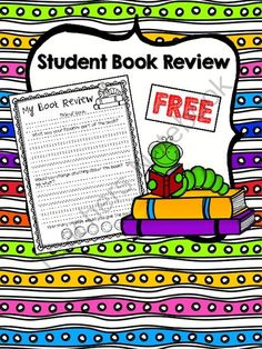 FREE Student Book Review from EasyPeasyLemonSqueezy on TeachersNotebook.com -  (3 pages)  - FREE Student Book Review