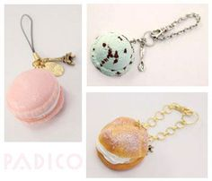 soft mold for clay sweets from Japan #diy #clay #crafts