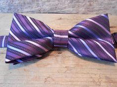 The PLUM CREEK Collection Bow Tie.Adjustable PreTied by TieFly, $39.99