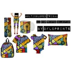 Multicolored Tribal All Over Printed Collection by Dflcprints Colorful and vivid hand draw abstract tribal style artwork all over printed fashionset homedecor and accessories collection design in multicolored scheme colors.  #multicolored prints, abstract prints, #tribalprints, tribal print buy online, tribal print for sale, print abstracts, print design, #clothing prints, #homedecor prints, #accessories prints