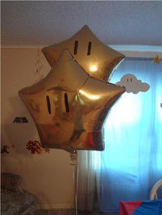 Mario Birthday (lots of cute ideas)