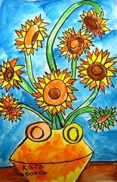 Van Gogh idea...liquid watercolor