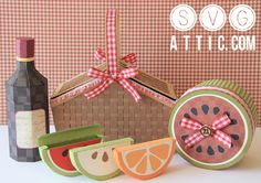 SVG Attic: Perfect Picnic SVG Collection $6.99
