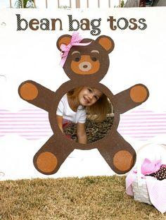 teddy bear bean bag toss