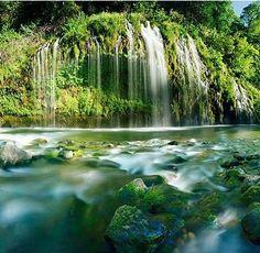 Mossbrae Falls near Dunsmuir, California