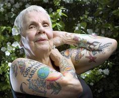 """""""What about when you get old?"""" Tattooed Seniors answer - Still looking awesome!"""