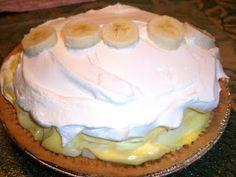 ole fashioned banana cream pie