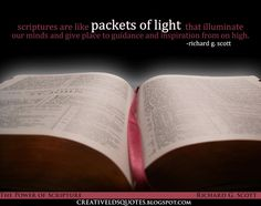 Creative LDS Quotes: Packets of Light