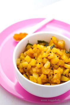 Potato Curry or Potato Masala or Potato Poriyal