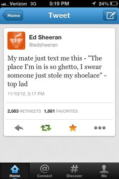 Oh Ed. Seriously can't stop laughing right now.