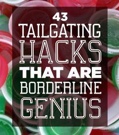 43 Tailgating ideas