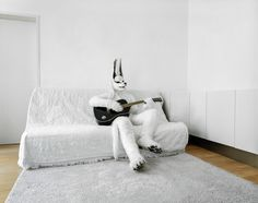 cosplayers at home by klaus pichler