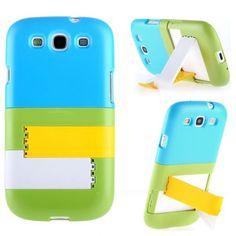 BingBong Stand (Vaaleansininen Yläosa) Samsung Galaxy S3 Suojakuori - http://lux-case.fi/bingbong-stand-vaaleansininen-ylaosa-samsung-galaxy-s3-suojakuori.html