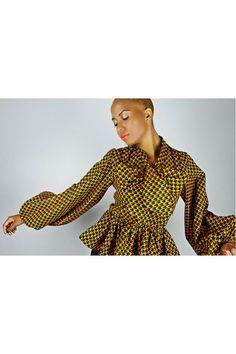 The Naomi -African Print 100% Holland Wax Cotton Shirt. #Africanfashion #AfricanClothing #Africanprints #Ethnicprints #Africangirls #africanTradition #BeautifulAfricanGirls #AfricanStyle #AfricanBeads #Gele #Kente #Ankara #Nigerianfashion #Ghanaianfashion #Kenyanfashion #Burundifashion #senegalesefashion #Swahilifashion DK