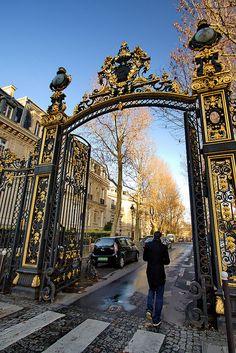 Paris sus parques, jardines y bosques.... Parc de Monceau