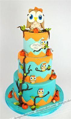 Owl's cake
