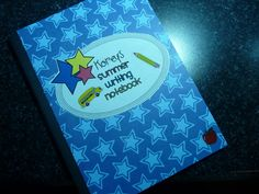 Love the idea of having personalized summer writing notebooks