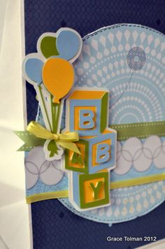 Baby Shower Decoration Projects Using Cricut® from Creative Memories (by Grace Tolman)    http://www.creativememories.com/Content/Shop/Catalog.aspx?pr=BrowseCategory=/Hierarchy/Paper%20Scrapbooking/Tools/Cricut%20Products=Shop=