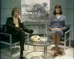 Miss Anne Elk has a new theory about the brontosaurus. Here it is, and what it is too.  Graham Chapman & John Cleese       Monty Pythons Flying Circus
