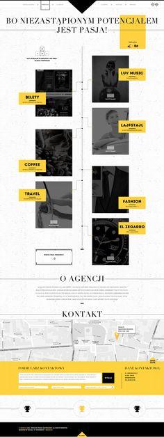 My new agency by Michal Wierzbicki, via Behance