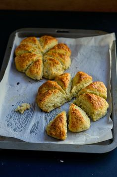 Garlic Bread Scones