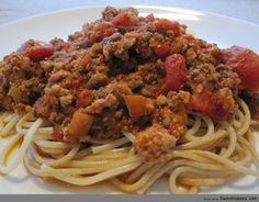 beef dish, spaghetti, sauces, sauce recipes, food, drink, favorit recip, pie recipes, meat sauc