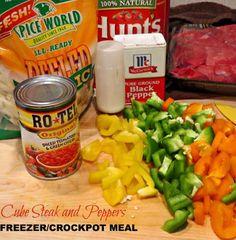 Cube Steak Crockpot Freezer Recipe