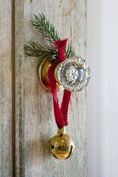 I love to hear the jingle of bells . . .