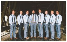 Suspenders for Groomsmen