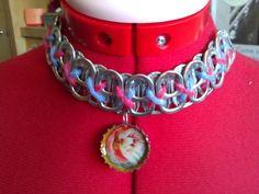 Cute soda tabs necklace.