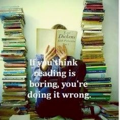 perfect quote for a total bookworm :)