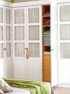 Closets vestidores y armarios on pinterest master closet ikea pa - Armarios empotrados en esquina ...