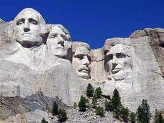 See Mount Rushmore..