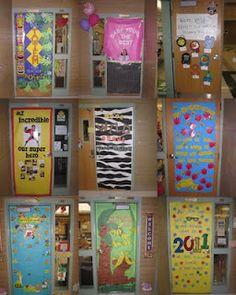 decorate classroom doors
