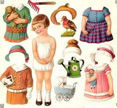✄ #Paper dolls.....