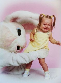 Photo Roundup: The Internet's Most Disturbing Easter Bunnies - http://www.nickmom.com #easterphotos