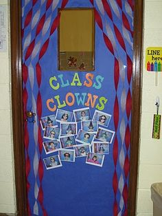 Circus Themed Classroom... for when we go to the circus in April
