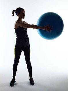 Waist-slimming exercises.